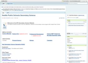 seattlescience.pbworks.com