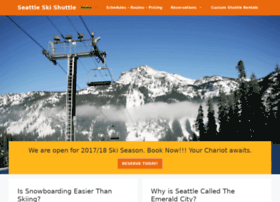 seattleskishuttle.com