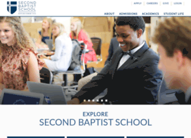 secondbaptistschool.org