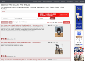 secondhand-chairs-and-tables.co.uk