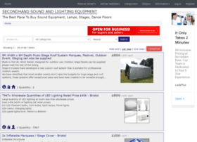 secondhand-sound-and-lighting-equipment.co.uk
