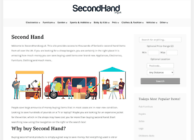 secondhand.org.uk