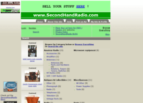 secondhandradio.com