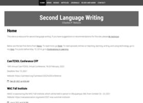secondlanguagewriting.com