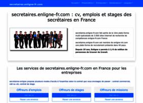 secretaires.enligne-fr.com