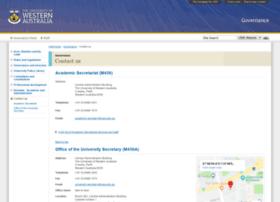 secretariat.uwa.edu.au