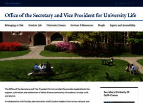 secretary.yale.edu
