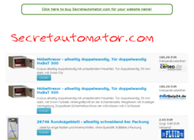 secretautomator.com