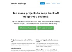 secretmanage.com