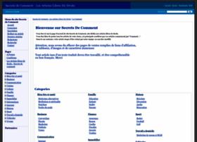secrets-de-comment.com