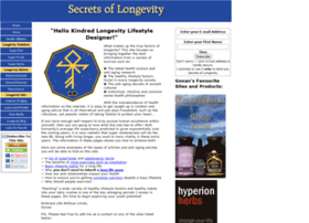 secrets-of-longevity-in-humans.com