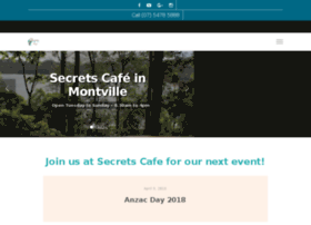 secretscafemontville.com.au