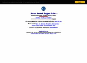secretsearchenginelabs.com