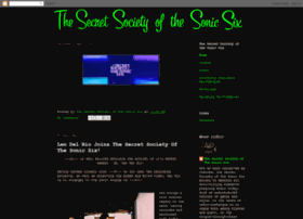 secretsocietyofthesonicsix.blogspot.com
