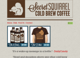 secretsquirrelcoldbrew.goodsie.com