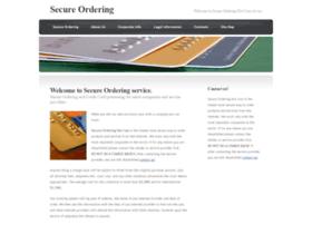 secureordering.com