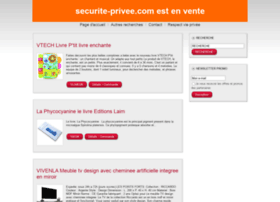 securite-privee.com