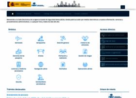 sede.seguridadaerea.gob.es