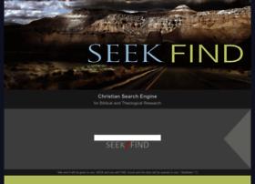 seekfind.org