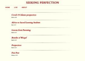 seekingperfection.org