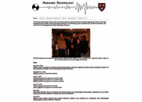 seismology.harvard.edu