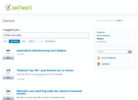 seitwert.uservoice.com
