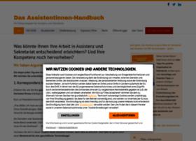 sekretaerinnen-handbuch.de