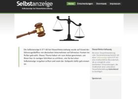selbstanzeige.info