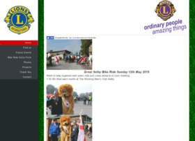 selbylions.org.uk