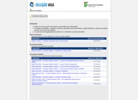 selecao.ifmt.edu.br