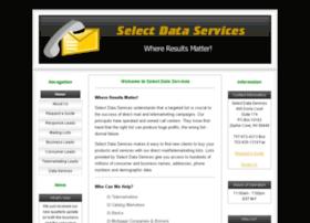 select-data-services.com