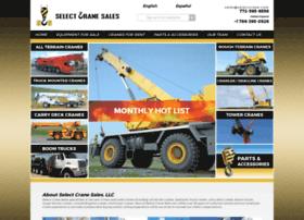selectcrane.com