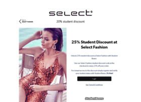 selectfashion.studentbeans.com