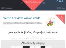 selectmyrestaurant.com