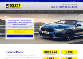 selectnumberplates.co.uk