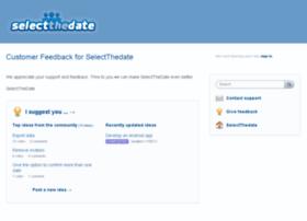 selectthedate.uservoice.com