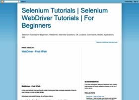 selenium-tutorial.blogspot.com