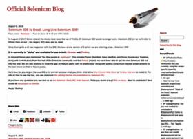 seleniumhq.wordpress.com