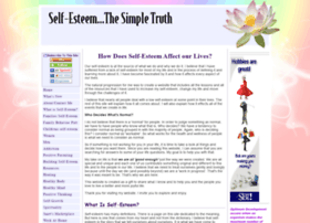 self-esteem-the-simple-truth.com