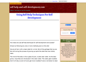 self-help-and-self-development.com