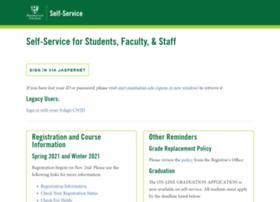 self-service.manhattan.edu