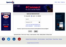 selfcare.spectranet.com.ng