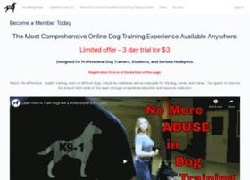 selfhelpdogtraining.com