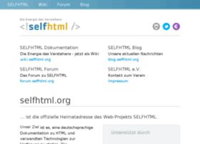 selfhtml.net