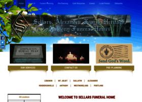 sellarsfuneralservices.com