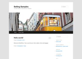 sellingsamples.com