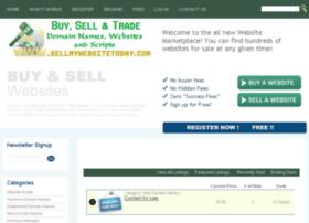 sellmywebsitetoday.com