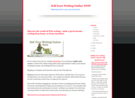 sellwritingnow.com