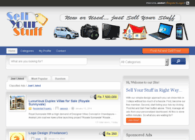 sellyourstuff.in