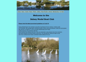 selseymodelboatclub.co.uk
